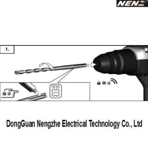 Herramienta de Construcción de China Professional Martillo perforador para golpear (NZ30).