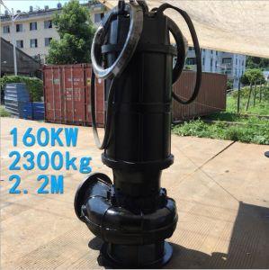 Qw Fundición Ss Non-Clogging material de riego de corte de la bomba sumergible de aguas residuales