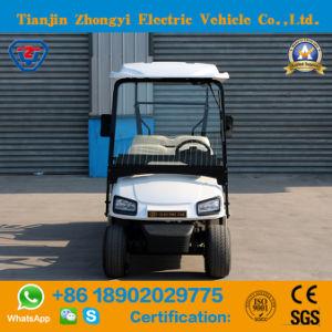 Elevador eléctrico de 4 lugares de venda quente carrinho de golfe para Resort