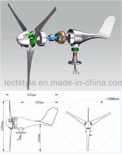 Mini100w 12V 24V intelligenter horizontaler Wind-Generator
