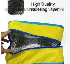 Imprimé de Polyester Portable sac à lunch du refroidisseur de remise en forme personnalisé