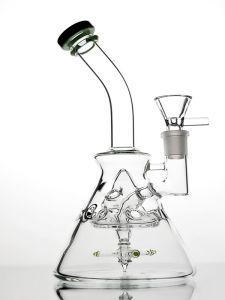 La LIMANDA di vetro di vetro del tubo dei tubi di fumo del tubo esaltante dell'impianto di perforazione attrezza il trasporto libero di vendite dirette della fabbrica del narghilé dei tubi di acqua