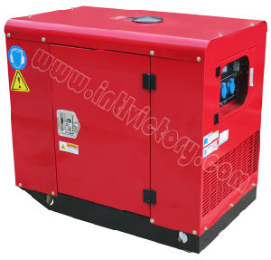 EPA/CIQ/Soncap/CE Certificationsの8.5kw Three-Phase Siletn Type Gasoline Generator