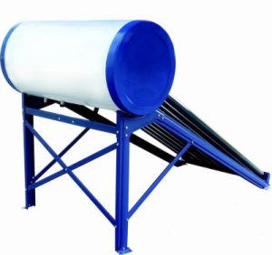 No presurizado el sistema de calefacción de agua de la energía solar la energía solar Geryser depósito de agua caliente de baja presión calentador de agua solar de tubos de vacío colector