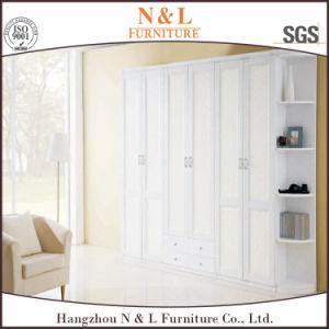 Weiße Farben-Ausgangsmöbel-hölzerne Garderobe mit Fabrik-Preis