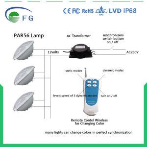 Lámpara Remoted 30W SMD5050 RGBW LED de Controleld PAR56 LED