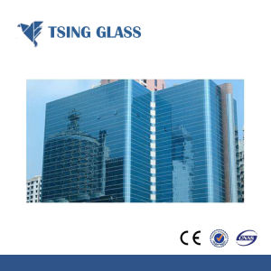 6mm Coated Glass Refelctive Glass Blue Green Bronzes Refelctive Glass