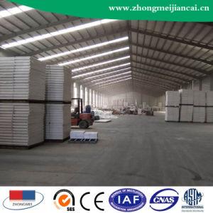 Placa de teto de gesso laminado de PVC com revestimento de alumínio254