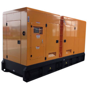 Лучшая цена Cummins 750 квт бесшумный дизельный генератор (КТА38-G2A) (GDC750*S)