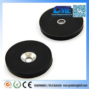 N42 Редкоземельные резиновое покрытие магниты