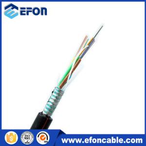 Piscina Direct sepultado o cabo de fibra óptica monomodo