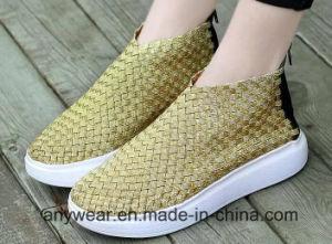Les femmes occasionnels Chaussures Chaussures tricot dame tissé (466)