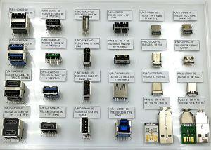 USB3.1 Verbinder, USB-Typ c-Verbinder, sind wir USB Org. Bauteil, HDMI Org. Bauteil, Ipc-Bauteil
