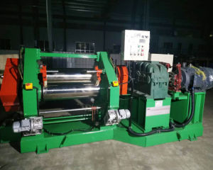 Rulli Xy-300*900 2 che calandrano il calendario di gomma della macchina di gomma del calendario della tessile per il PVC