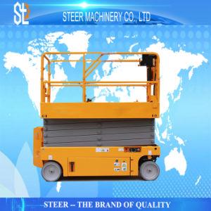 Bateria Antena Automotrizes automática hidráulica de trabalho Homem Sizer Elevadores eléctricos de elevador de tesoura