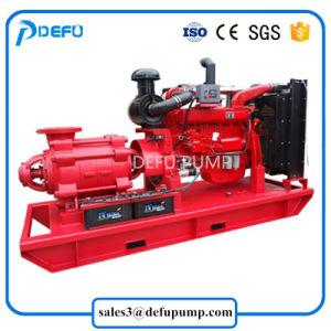 Horizontale mehrstufige motorangetriebene Dieselfeuer-Hochdruckpumpe
