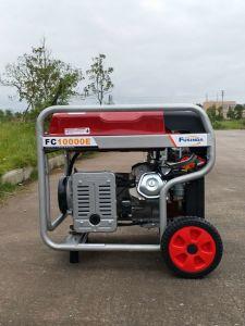 Высокая Outputl 7.5kw электрический генератор бензинового двигателя бензин