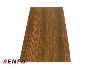 Venta caliente de melamina color blanco para los muebles de madera contrachapada de HPL