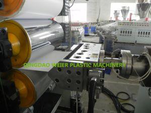 Maquinaria de corte de hojas de PVC Sjsz-65/132