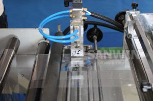 A estanqueidade lateral de corte térmico plástico bag fazendo a máquina