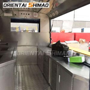 Térmico eléctrico de la cocina la comida de perro caliente de la concesión de la calle Camión Citroën