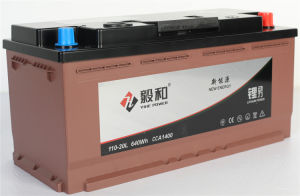 Carro de Lítio 12V bateria de arranque e paragem 110Ah 110-20L