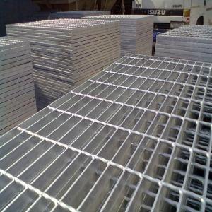 Plataformas de trabajo grating de acero de la instalación antioxidante y rápida