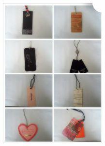 Toutes sortes d'étiquettes du fabriquant de vêtement