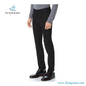 Fashionaleおよび簡単はえのジーンズによって人のための黒いデニムのジーンズに細合った