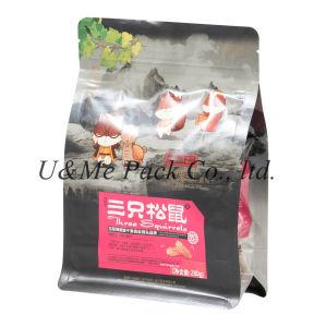 Praça de saco inferior de embalagem dos alimentos para Alimentos para Animais, Snack-
