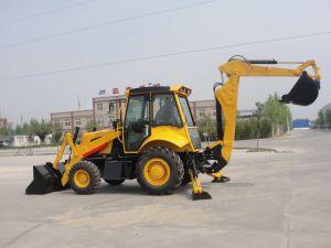 China excavadora cargadora retroexcavadora cargadora de ruedas para la exportación