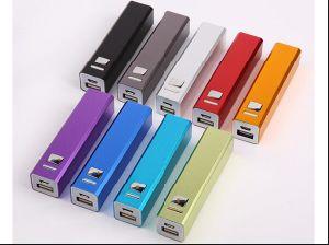 Pack de 2600mAh batería externa portátil cargador de batería de respaldo externo, el logotipo personalizado