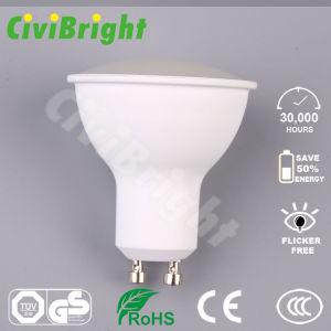 Lampen-Scheinwerfer des GU10 LED Birne PC Deckel-6W der Lampen-LED