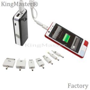 Kingmaster klassische schwarze Minienergien-Bank-Geschwindigkeit, die bewegliches Ladegerät auflädt