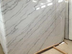 Nuovo marmo bianco di calcutta mattonelle di marmo bianche lastre