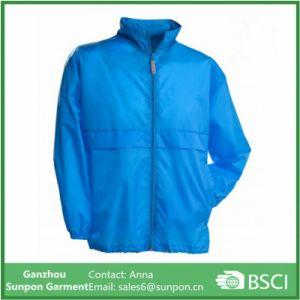 Manteau Bleu Water-Resistant homme veste coupe-vent