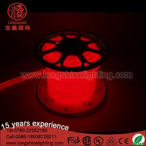 LED de alto brilho Rosa flexível forma redonda com luz néon IP65