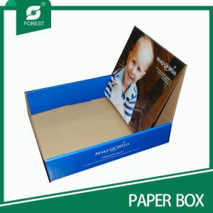 Los fabricantes de papel Kraft Caja de visualización de las cajas de embalaje de bosque (016)