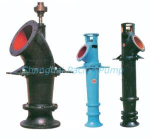Axial verticale-(mixte) de la pompe de débit