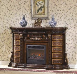 CE Approved European Electric Fireplace (638)