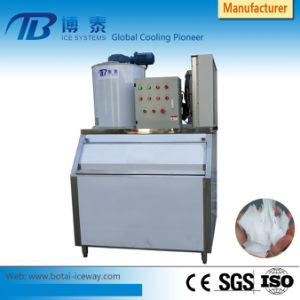 La mejor calidad de 1T/2T/3T/5t Máquina de hielo en escamas de la fábrica original