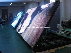 Ouvrir le Cabinet de polices écran LED de plein air pour la publicité dans extérieure ou intérieure