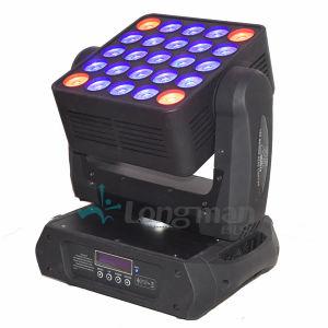 25*15W LED de luz da Matriz do Cabeçote Móvel Casamentos Decoração Estágio/EQUIPAMENTO DJ
