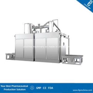 Automatische Trommel-Reinigung und trocknende Maschine in der pharmazeutischen Chemikalien-und Lebensmittelindustrie