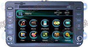 Giocatore di multimedia dell'automobile audio per il VW Bora 09