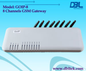 Gateway di GSM VoIP dei 8 canali (GoIP_8)