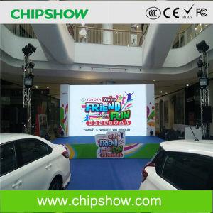 Fabricante de Shenzhen Chipshow P4 Cores RGB tela LED interior