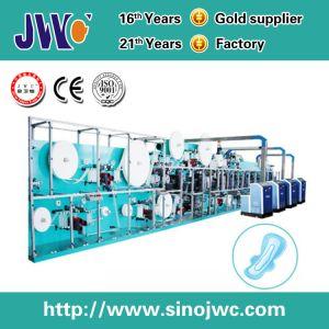 Velocidade máxima sanitárias descartáveis guardanapo da linha de produção da Máquina com Recolhedor Automático Jwc-Kbd-SV