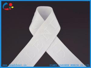 백색 여자 내복을%s 색깔에 의하여 주문을 받아서 만들어지는 디자인 탄력 있는 리본