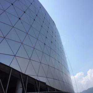 Panneau en aluminium personnalisé pour le gymnase façade mur rideau//décoration de revêtement